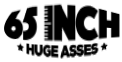 Vivid Presents 65 Inch Huge Asses Logo